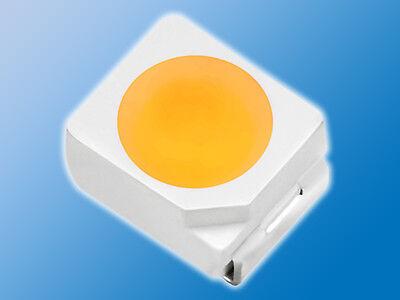 150x SMD LED MIX | Warm Weiß/Weiß gemischt | PLCC-2 | 3528 | verschiedene Typen 3