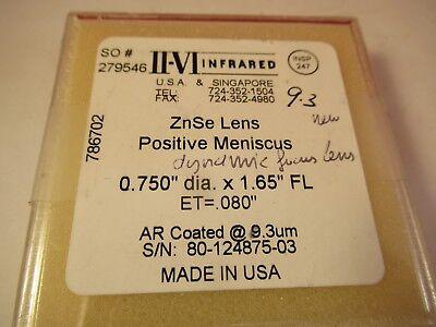 Optique Ii-Vi Zinc Selenide Verres Znse Infrarouge Optiques comme sur Photo 3