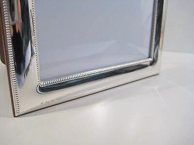 Cornici argento 925 bilaminato,x foto da 9x13 a 18x24,liscia con bordini,TOP 3