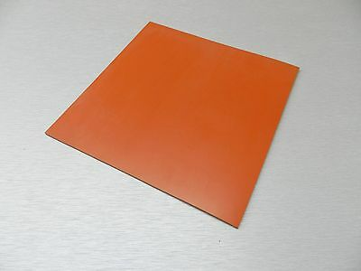 """High Temp FDA 24/"""" x24/"""" Red Silicone Rubber Sheet 1//8/"""" thk 40 duro MADE IN USA"""