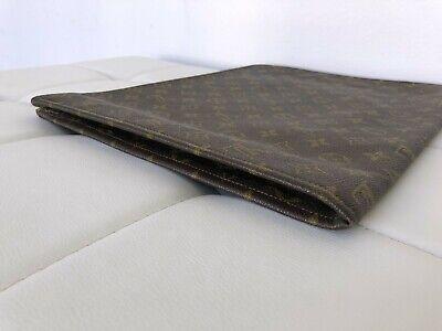 "AUTHENTIC LOUIS VUITTON 15 x 11"" Monogram Document Folder Holder Travel Case 6"