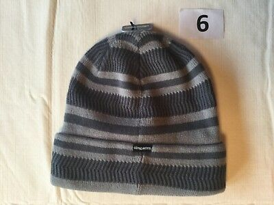 16ec8d4afc0 ... Adidas Knit Beanie Men One Size New Tags White Gray Black Blue Lined  Reversible 5