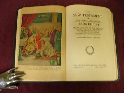 Bible KJV Jimmy Wakely Inscribed - 1945 3