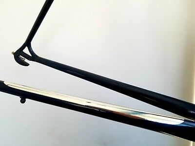 Vintage retro Chrome Vinyl Chainstay Protector mirror finish for frame 3