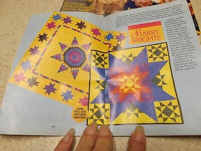 Lot Vintage Workbasket Magazine & Quilt 80s-90s  Tatting Knitting Crochet Recipe 3