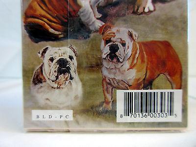 Set of 2 Decks By Ruth Maystead Bulldogs New English Bulldog Playing Cards