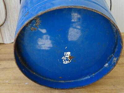 U2990 Esmalte Cubo - Shabby Chic - Esmaltada - Aprox. 10 Litro - Azul 8
