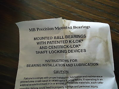 New Mb Precision Mounted Bearings Tbc-05 4