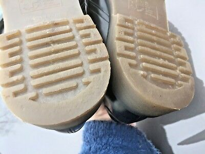 Dr Martens 1462 black leather shoes UK 10.5 EU 45.5 Made in England 8