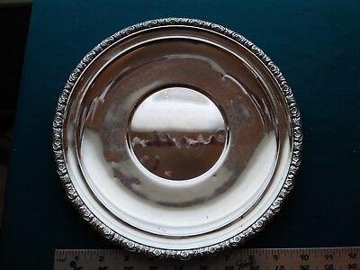 International PRELUDE PLAIN STERLING Plate H229 #1020 2