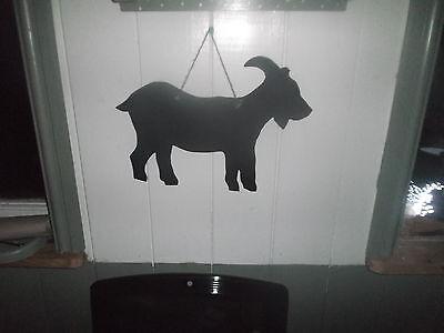lrg GOAT SHAPE chalkboard blackboard birthday christmas farm animal billy nanny 4