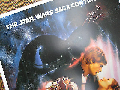 "Star Wars - Empire Strikes Back ( 11"" x 17"" ) Collector's Poster Print -B2G1F 5"