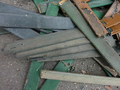 LOT of salvaged WOODEN victorian SHUTTER slats GREAT 4 ART painting projects 3
