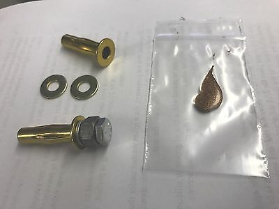 4 Of 6 Kohler Seat Anchor Nut Kit For One Piece Toilet All Mounting Hardware Included