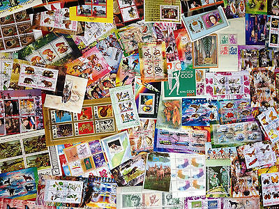 Worldwide Foreign Souvenir Sheets Stamp Collection Lot // 8 DIFFERENT SHEETS 3
