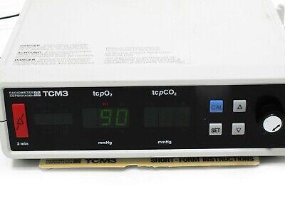 Radiometer TCM3  Transcutaneous CO2 Monitor/tcpO2/tcpCO2  Monitor 2