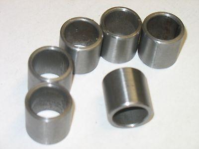 "Steel Bushings //Spacer 1/"" OD X 3//4/""  ID X 6.00/"" Long  4 Pcs    CRS"