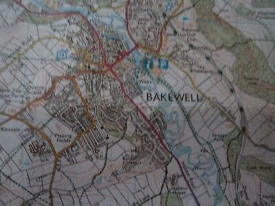 Ordnance Survey map Outdoor Leisure Peak District 2007 Matlock Buxton Bakewell 8