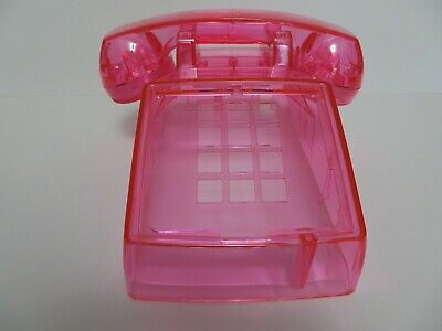 Western Electric telephone Model  2500 body clear pink New Antique telephone 7