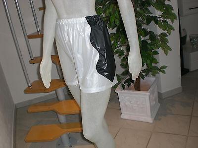 Neu Pvc Extra Soft Boxershorts Shorts Pants S M L 7