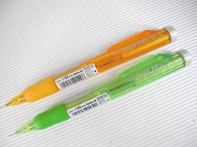 AO & CO  Pentel SIDE FX PD255 0.5mm Automatic pencil BlueBlack & Black(Japan) 5
