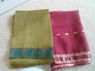 3 NEW Colourful Mixed Fibre Ethnic Short Scarves Ladies Scarf Gift Idea  #30 2
