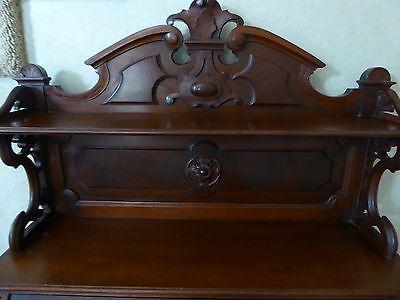 Antique Walnut Victorian Drop Front Desk Circa 1880's