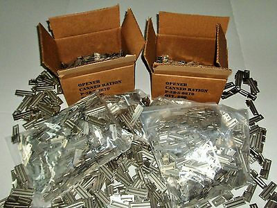 5 Fisherman 5 P-38 /& P-51 Can Openers US Military Issue Great For Hunters
