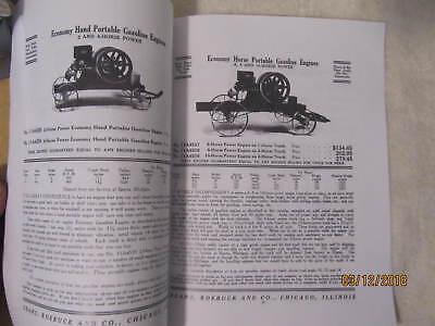 Sears Roebuck Co Gasoline Engines Catalog, Sparta Economy Engine Catalog 4