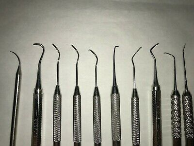 Dental Instruments, Used But In Very Good Condition, 10 Instruments For 1 Price 2
