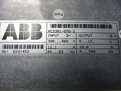 ABB Frequenzumrichter Inverter ACS 301-6P6-3 4