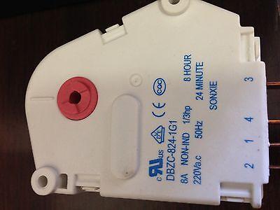 10 Westinhouse Kelvinator Electrolux  Fridge Defrost Timer 8Hr p/n1448728 0501 4