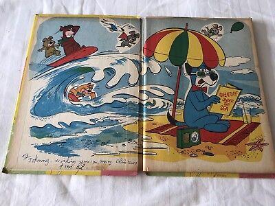 Hanna Barbera's  Huckleberry Hound Television Bumper Book. Rare 3