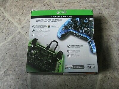 MICROSOFT XBOX ONE / WINDOWS AFTERGLOW PDP Prismatic Wired Controller OVP B-WARE 3