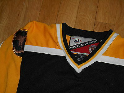 13cabc138 ... VINTAGE 90 s PRO PLAYER BYRON DAFOE BOSTON BRUINS YOUTH BOYS NHL TEAM  JERSEY S M