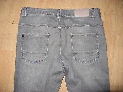 Worn Once Boys Hugo Boss Slim Fit Stretch Straight Leg Grey Jeans Age 12-13-14 7