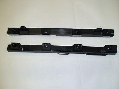 FORE Innovations black billet fuel rails 99-01 Mustang Cobra SVT N//A 4.6 dohc 4V