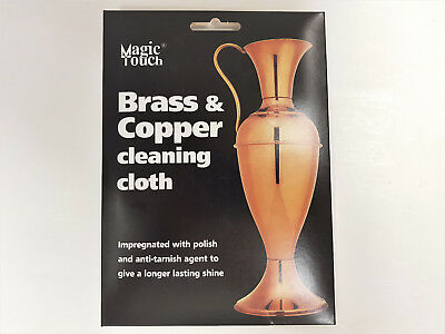 Brass & Copper Cleaning Cloth Specialist Impregnated Metal Polish Care Cloth 4