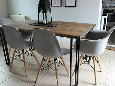 Amazing Industrial Style Dining Table And Bench Set Vintage Style Pdpeps Interior Chair Design Pdpepsorg