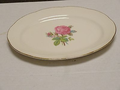 On Sale Homer Laughlin Cunningham and Picket  9 inch Rose Serving Bowl