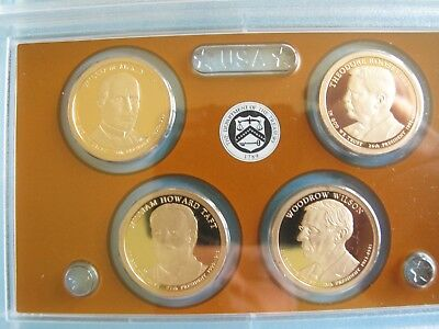 2013-S U.S. MINT PROOF SET 14 CLAD COINS ORIGINAL PACKAGING with CERTIFICATE P15 8