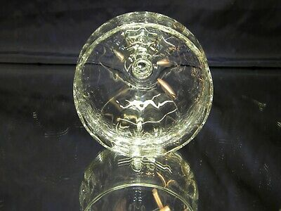 SET of 6 BEAUTIFUL Large Clear Water Wine Goblets Glasses 6