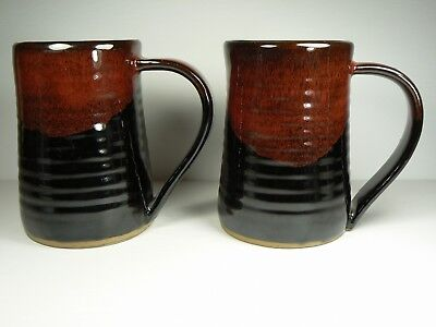 3D Pirate Mugs Tankards His & Hers Rich Detail Color Always Azul Pottery NEW
