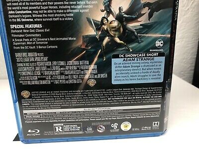 Justice League Dark Apokolips War Blu Ray + Digital HD (NO DVD INCLUDED) Read 6