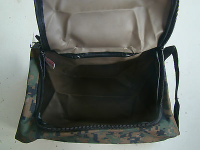 2caccff91b2a ... Usmc Marine Corps Woodland Marpat Camo Camouflage Waterproof Dopp  Shaving Kit + 10