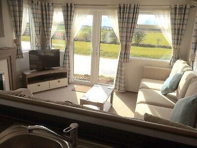 Static Caravan For Hire with private 'hot tub' at Sand Le Mere holiday village. 5