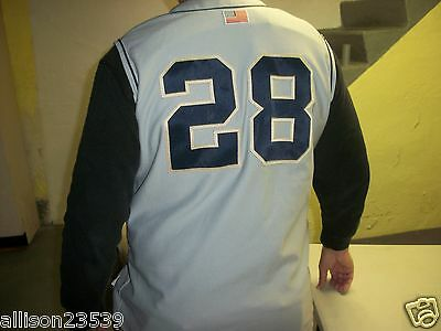 b3db01ab9 NOTRE DAME GAME Used Baseball Jersey  28 -  225.00