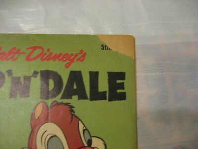 """walt disneys chip """"n"""" dale #19 good to very good condition 1959 dell comics"""