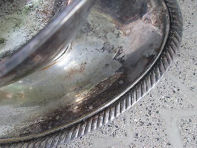 Plated Gravy Boat with Attached Underplate in Castleton by International Silver