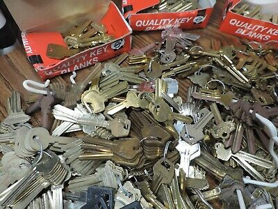 18 pounds key blanks ilco,corbin russwin, schlage, star , sargent others #2 6